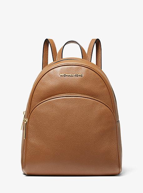 Abbey Medium Pebbled Leather Backpack