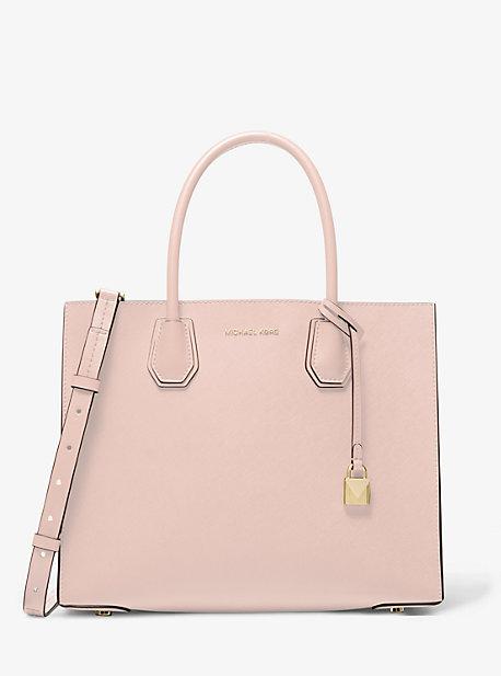Mercer Large Saffiano Leather Tote Bag