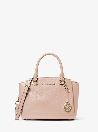 Petit sac porté main Maxine en cuir grainé