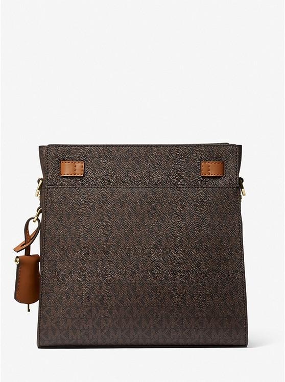 Nouveau Hamilton Large Logo Messenger Bag BRN/ACORN