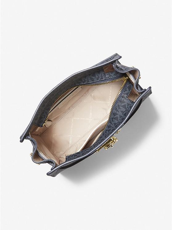 Nouveau Hamilton Large Logo Messenger Bag ADMRL/PLBLUE