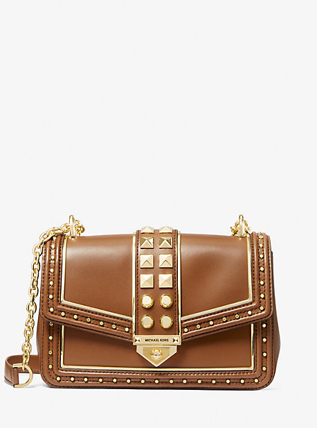 마이클 마이클 코어스 소호백 라지 - 2 컬러 Michael Michael Kors Soho Large Studded Leather Shoulder Bag