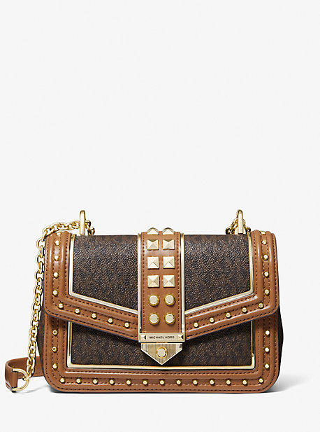 마이클 마이클 코어스 소호백 라지 - 2 컬러 Michael Michael Kors Soho Large Studded Logo Shoulder Bag