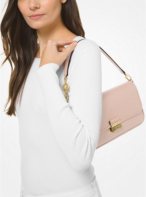 Bradshaw Small Leather Shoulder Bag SOFT PINK