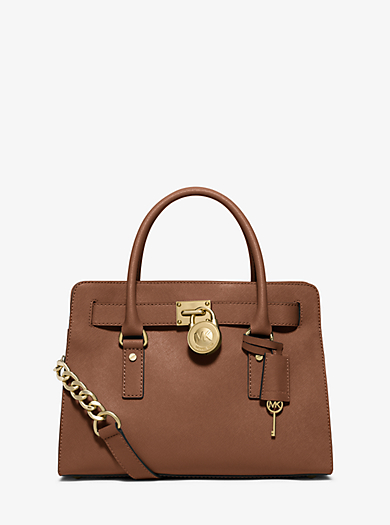 Hamilton Saffiano Leather Medium Satchel