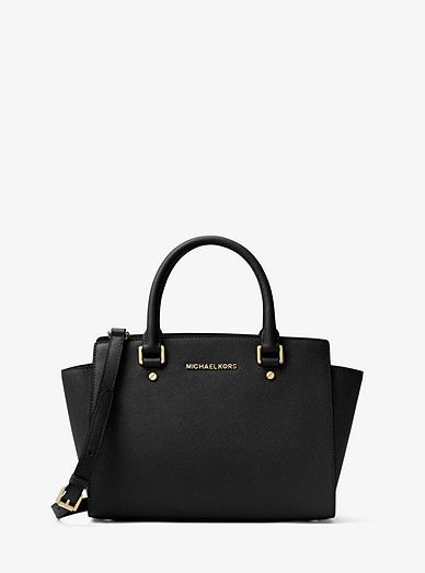 0bca74bec0 Selma Saffiano Leather Medium Satchel