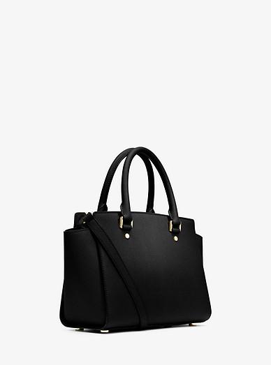 0bca74bec0 Selma Saffiano Leather Medium Satchel
