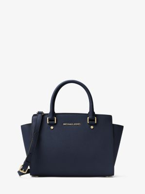 af20feaf89b1 Selma Saffiano Leather Medium Satchel