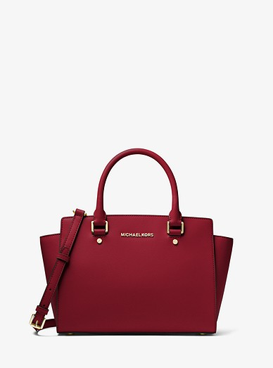 41555ea07fea Selma Saffiano Leather Medium Satchel