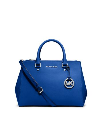 c4d0ae9f3d Sutton Medium Saffiano Leather Satchel | Michael Kors