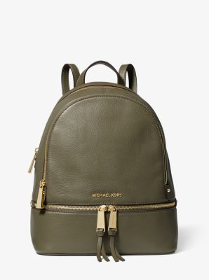 8d75ab42112b Rhea Medium Leather Backpack