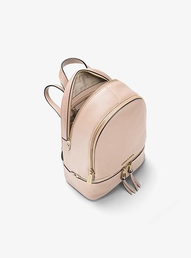 017bf46099 Rhea Medium Leather Backpack. Rhea Medium Leather Backpack. Rhea Medium Leather  Backpack. MICHAEL Michael Kors