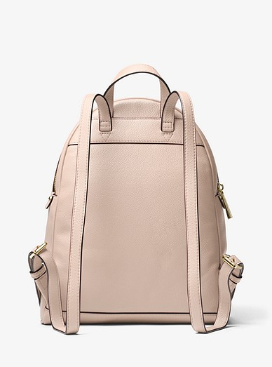6c05f44f73f5 Rhea Medium Leather Backpack. MICHAEL Michael Kors