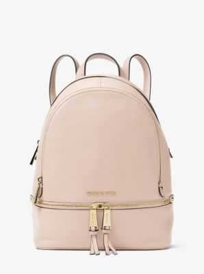 c74a5f8305b6da Rhea Medium Leather Backpack | Michael Kors