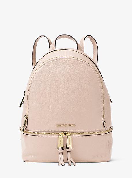 5cfbb225f051 Rhea Medium Leather Backpack | Michael Kors
