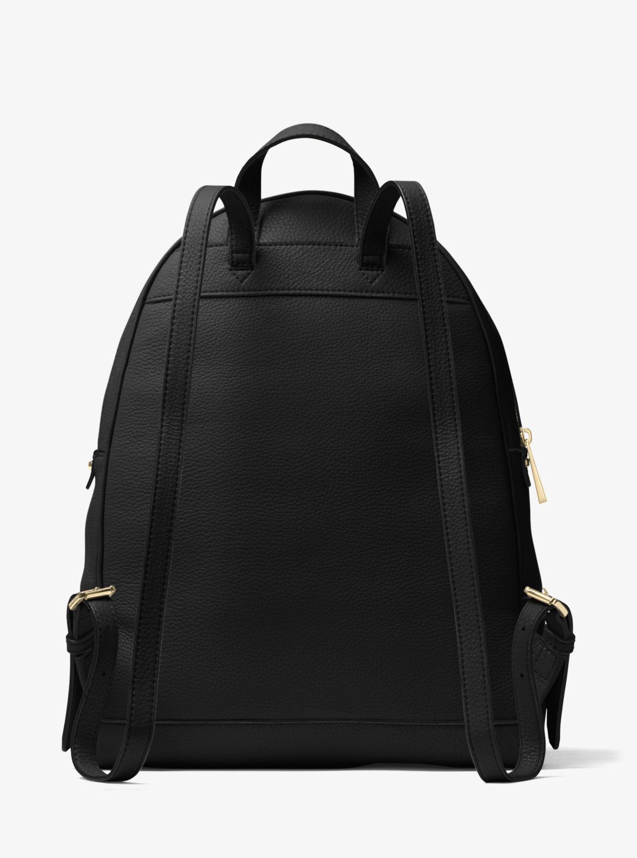 f3527f8f7afa ... Rhea Large Leather Backpack. MICHAEL Michael Kors