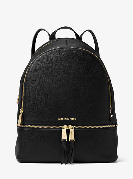 3d793a36c68c8 Rhea Large Leather Backpack. Find a Store. Sign Up for updates from Michael  Kors