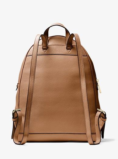 403f1e0b0653 Rhea Large Leather Backpack. Rhea Large Leather Backpack. MICHAEL Michael  Kors