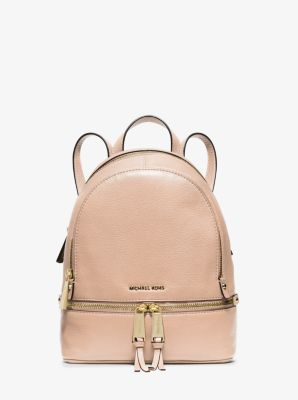 a174dc88e0b9 ... amazon rhea extra small leather backpack michael kors 05098 7fbd1