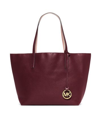 01e52a5d1854 Izzy Large Reversible Leather Tote Bag | Michael Kors