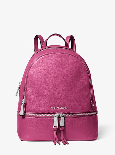 1b5dbe55544c92 Rhea Medium Leather Backpack | Michael Kors