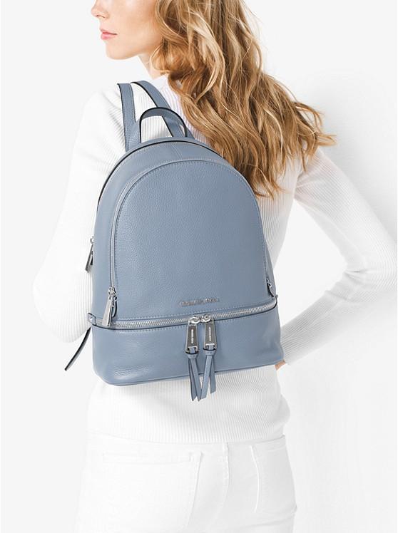 b269bd75b7f9 Rhea Medium Leather Backpack