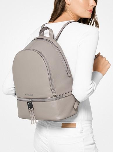 e998ac81eafa Rhea Large Leather Backpack. Rhea Large Leather Backpack. MICHAEL Michael  Kors