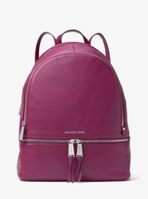 ad4f301ae0d7 Rhea Large Leather Backpack | Michael Kors