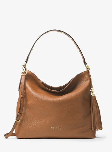 c403dae8ebfa Brooklyn Large Leather Shoulder Bag | Michael Kors