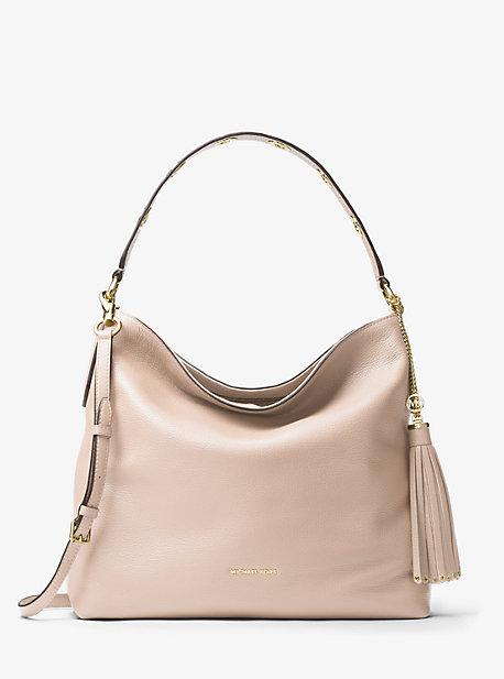Brooklyn Large Leather Shoulder Bag | Michael Kors