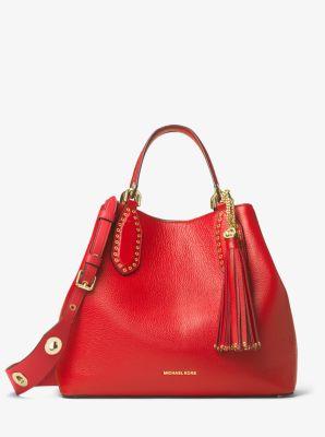 Brooklyn Large Leather Satchel | Michael Kors