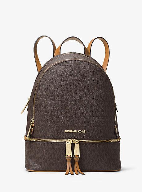 101dfc242536 Rhea Medium Logo Backpack | Michael Kors