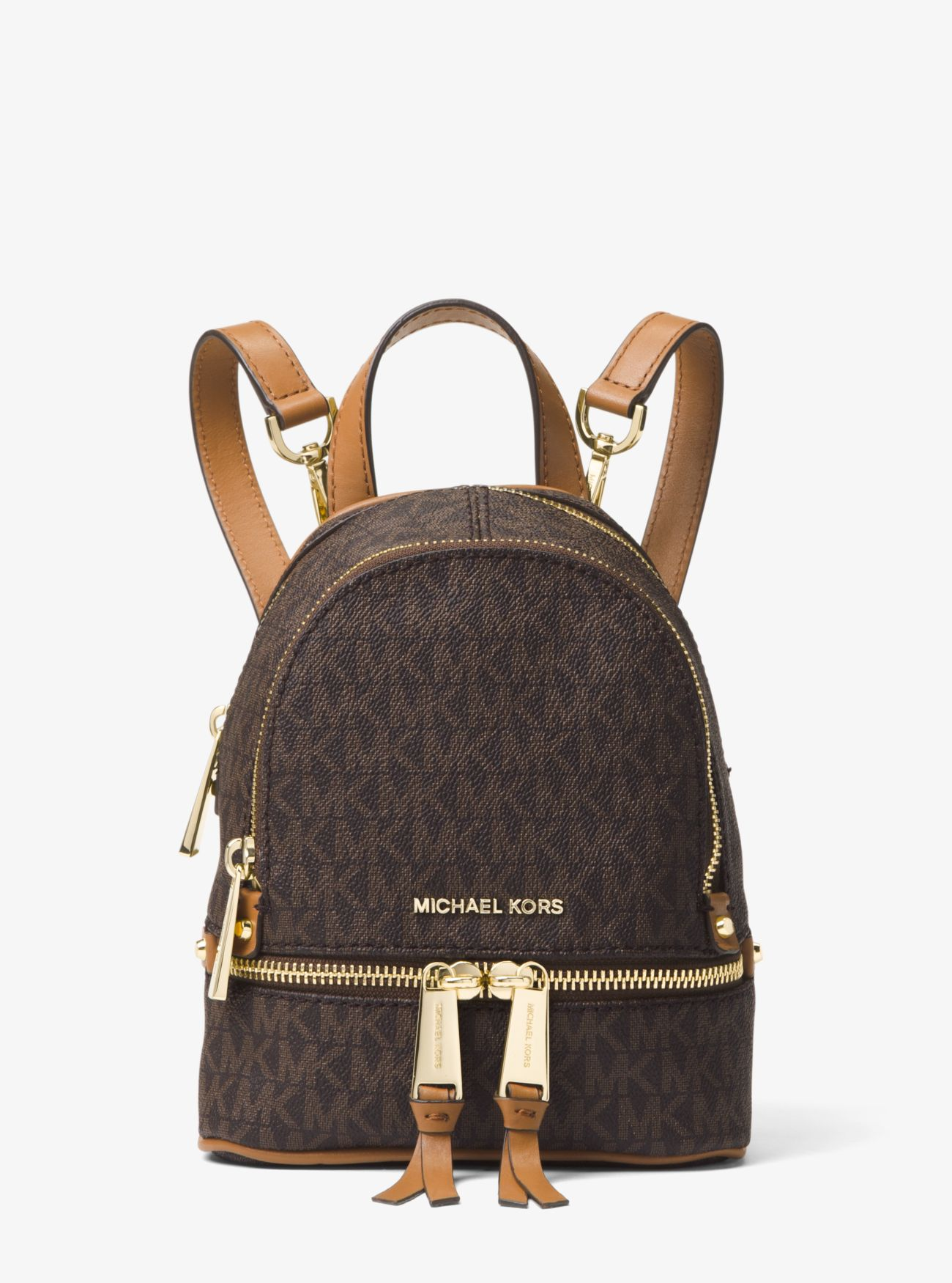 67276cd836 Rhea Mini Logo Backpack. michael michael kors ...
