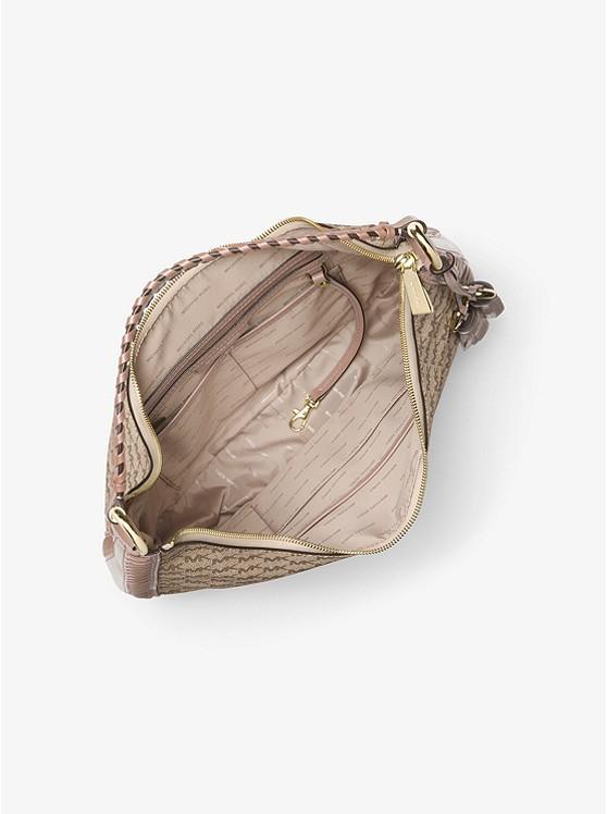 365b19554584 Lauryn Large Logo Shoulder Bag Lauryn Large Logo Shoulder Bag ...