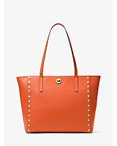 Rivington Large Studded Leather Tote