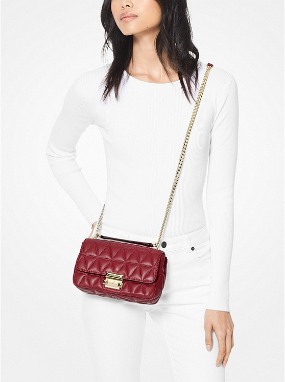 730f95eb5c1a1 ... Sloan Small Quilted-Leather Crossbody
