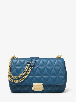 dcea51a628557 Sloan Large Quilted-leather Shoulder Bag