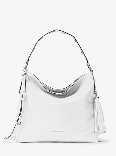38af934c812f40 Brooklyn Large Leather Shoulder Bag | Michael Kors