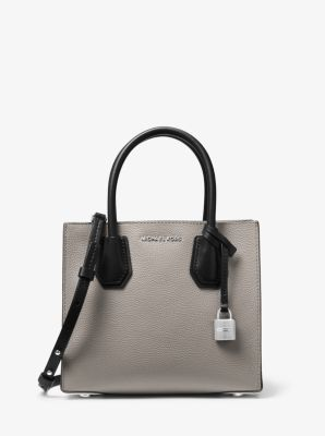 da419dca9487 Mercer Color-Block Leather Crossbody | Michael Kors