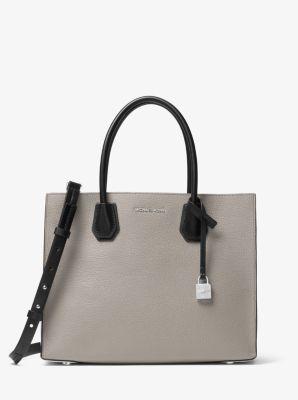 d47fd3366be3 Mercer Large Tri-Color Pebbled Leather Tote Bag