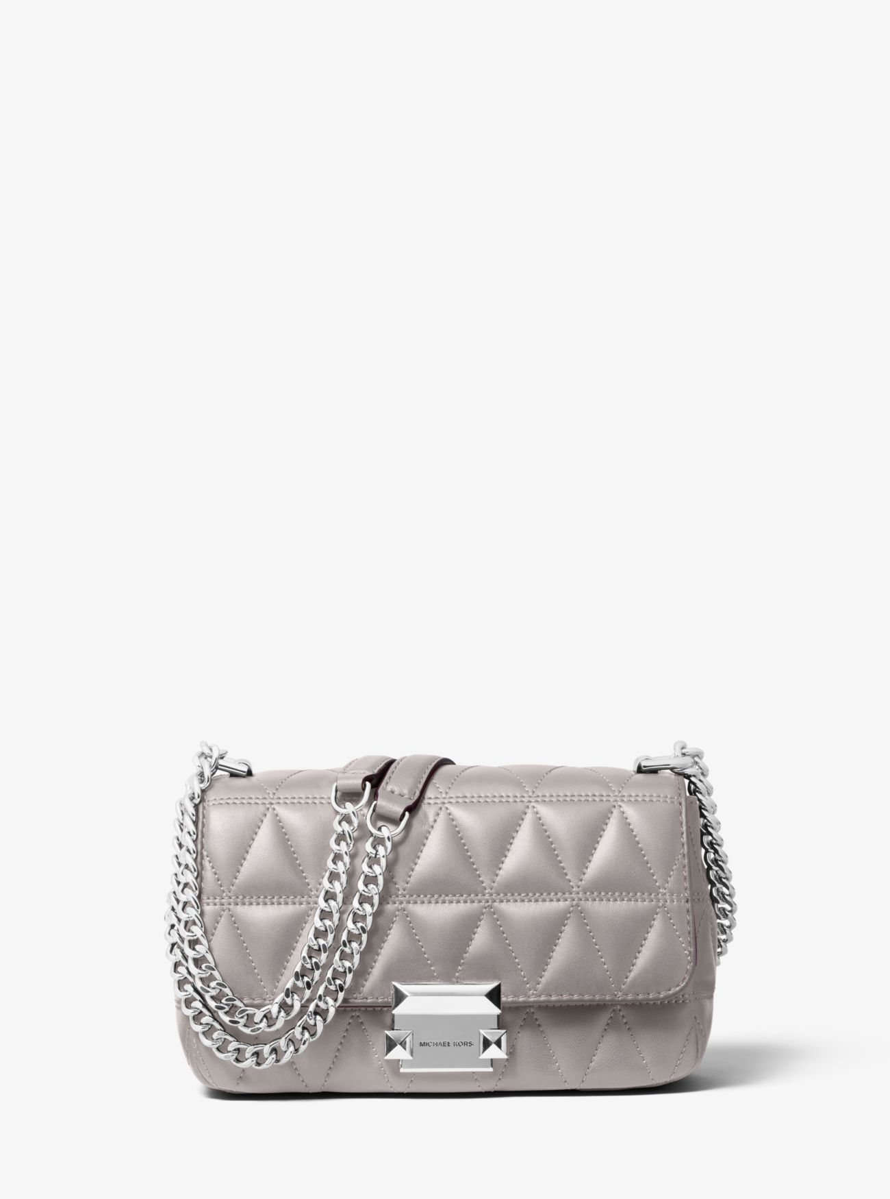 Sloan Small Quilted Leather Crossbody Michael Kors
