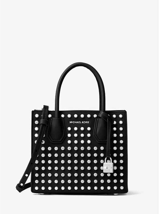 Mercer Studded Leather Crossbody