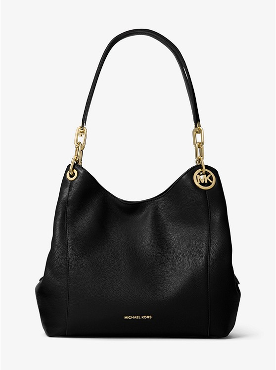 710e02fcd5532 Fulton Large Pebbled Leather Shoulder Bag ...