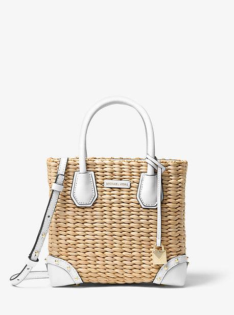 00eab76a1348 Malibu Woven Straw Crossbody Bag | Michael Kors
