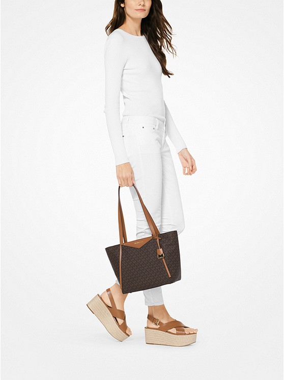 4c7346f76a5228 Whitney Small Logo Tote Bag | Michael Kors