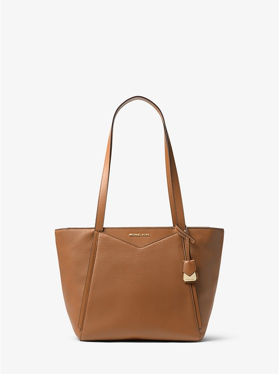 3b087c1f54e7 Whitney Small Pebbled Leather Tote Bag
