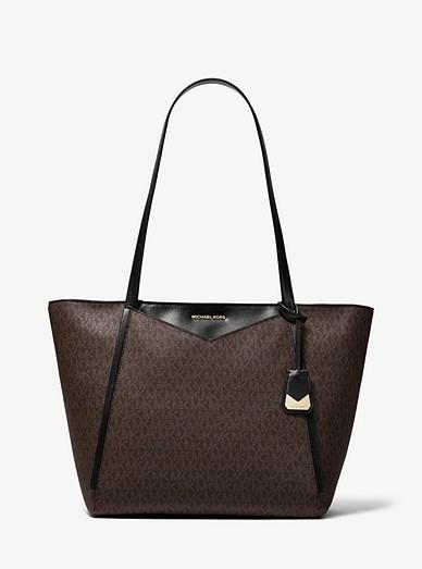 94dae28bdeca1e Whitney Large Logo Tote Bag | Michael Kors