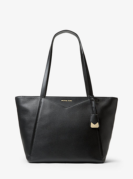bc558cec5879 Whitney Large Leather Tote Bag. michael michael kors · Whitney Large ...