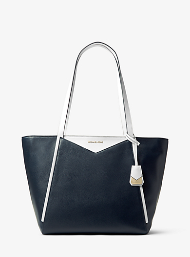 Whitney Large Leather Tote Quickview Michael Kors