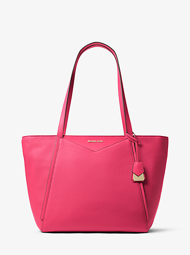 d1c3d0e40c28 Whitney Large Leather Tote Bag. michael michael kors ...